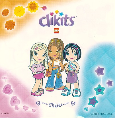 Clikits, expanding lego products to girls